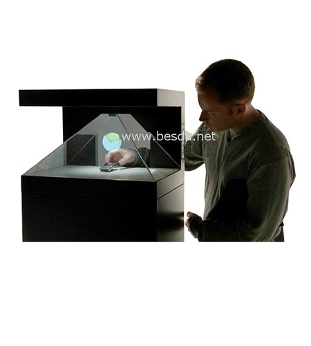 3D holographic display, 3D holographic showcase