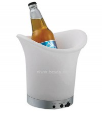 LED ice bucket with multi color changing